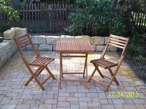Gartenset Tisch Mit 2 Stühlen Interieur51de